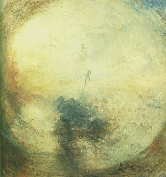 Fény és szín, William Turner