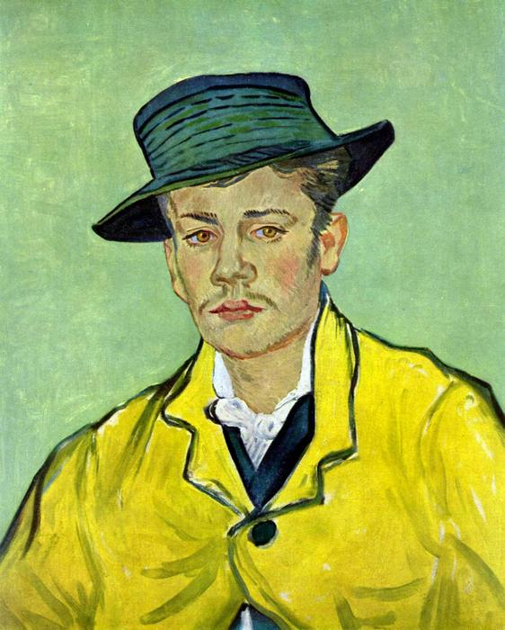 Armand Roulin portré, Vincent Van Gogh