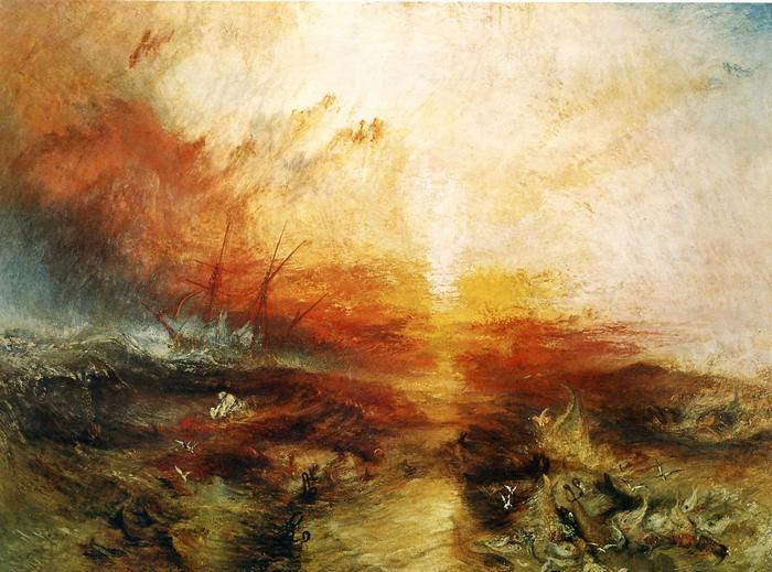 Érkező tájfun a  tengeren, William Turner