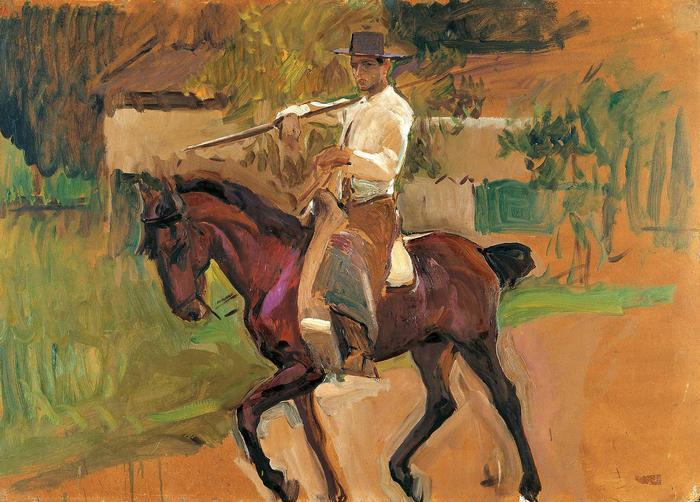 Garrochista (1914), Joaquin Sorolla