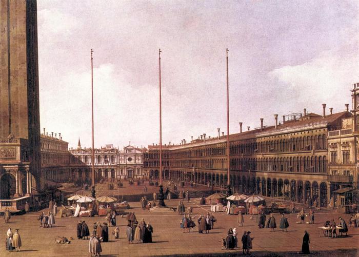 Velence: A Szent Már tér, Canaletto