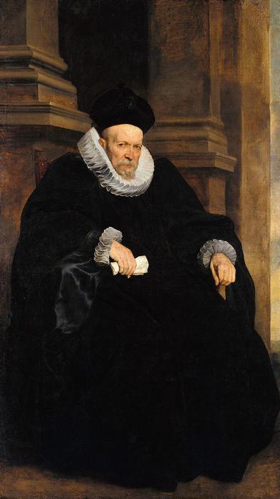 Genovai férfi portréja, Anthony van Dyck