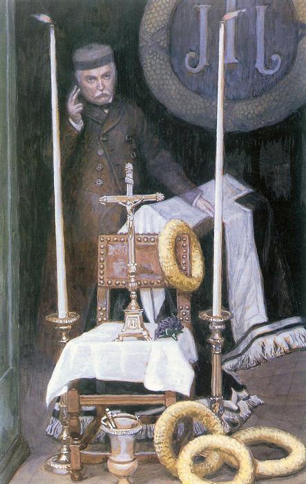 A sofőr portréja, James Tissot