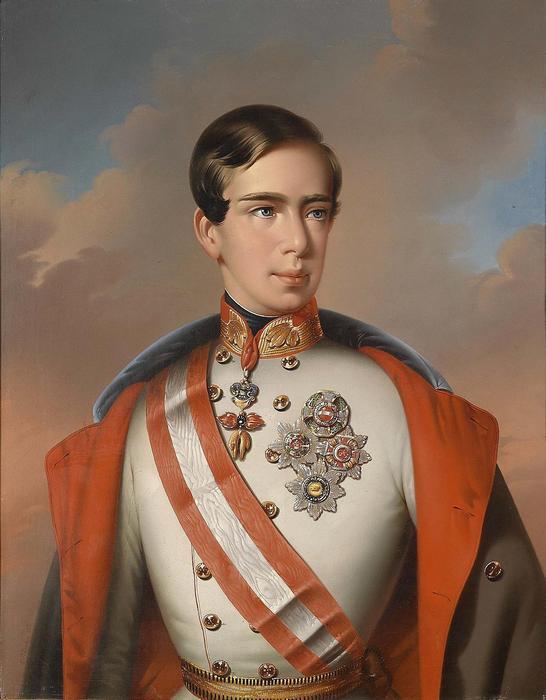 I. Ferenc József (1851), Eduard Klieber Franz