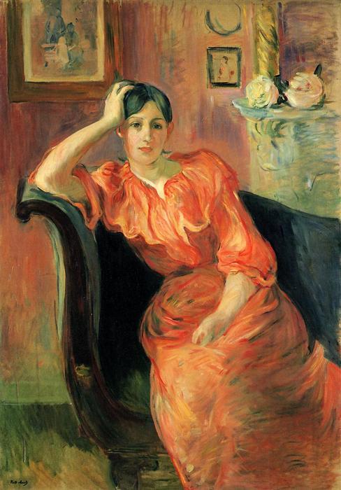 Jeanne Pontillon portréja, Berthe Morisot