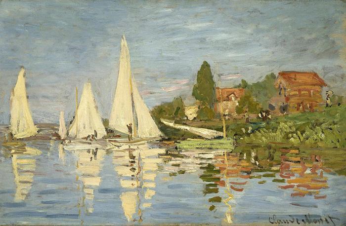 Regatta Argenteuil-nál (1872 körül), Claude Monet