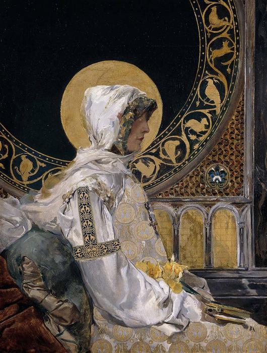 Egy szent imája (1888), Joaquin Sorolla