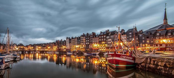 Honfleur, Franciaország,