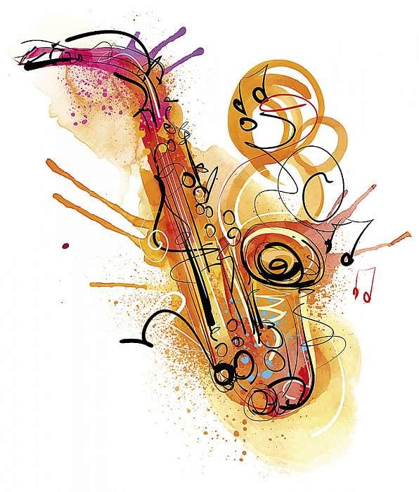 Akvarell Sax, Premium Kollekció