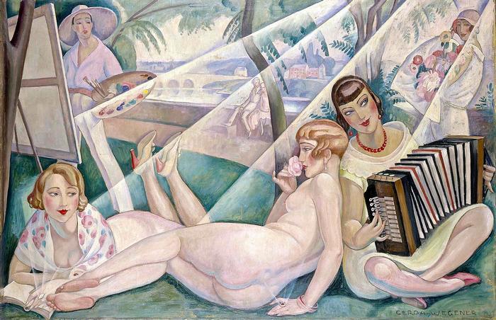 Egy nyári nap, Gerda Wegener