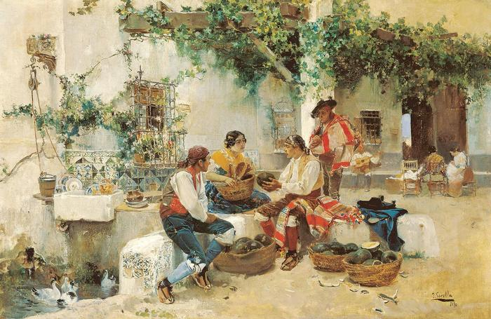 Dinnyeárus (1890), Joaquin Sorolla