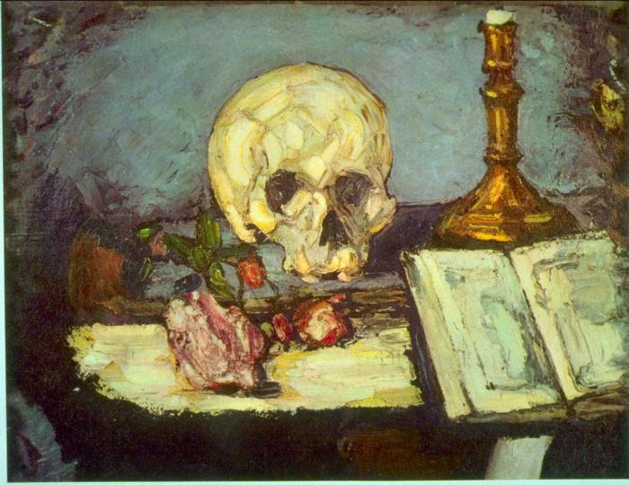 Koponya, Edgar Degas