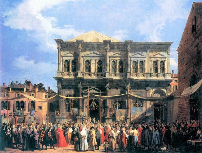 Szent Rókus fesztivál, Canaletto