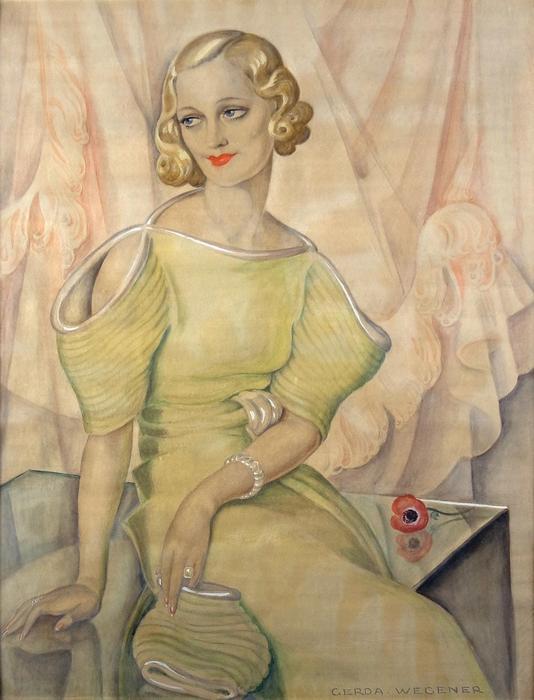 Eva Heramb portéja, Gerda Wegener