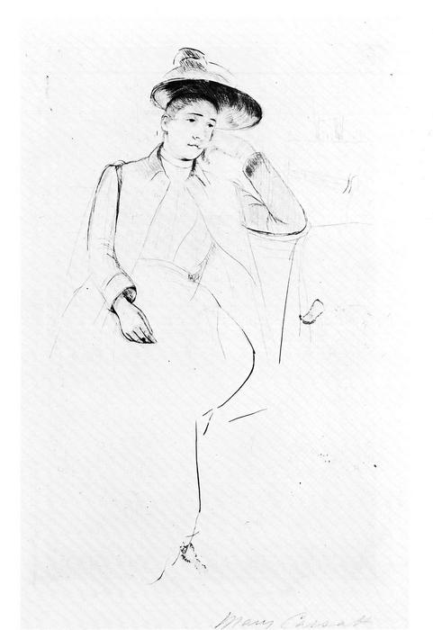 Céleste a parkban, Mary Cassatt