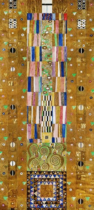Lovag (színverzió 1.), Gustav Klimt