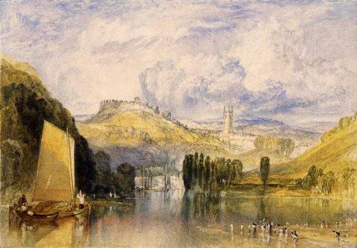 A Dart folyó, Totnes-nál, William Turner