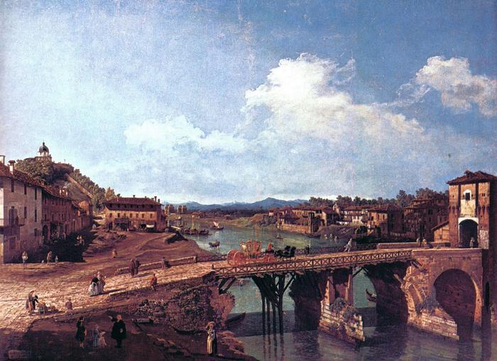 Torinói látkép, Canaletto