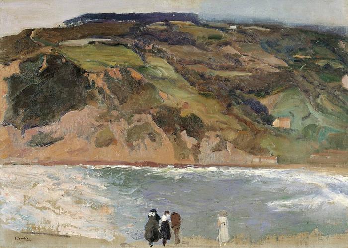 San Sebastian-i tájkép (1917), Joaquin Sorolla