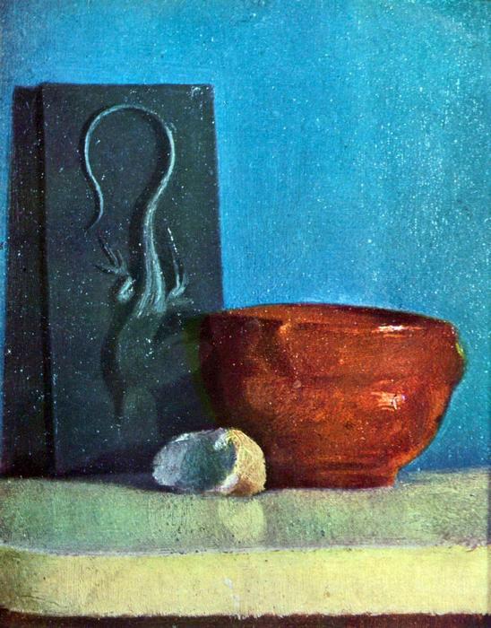 Csendélet gyíkkal, Edgar Degas