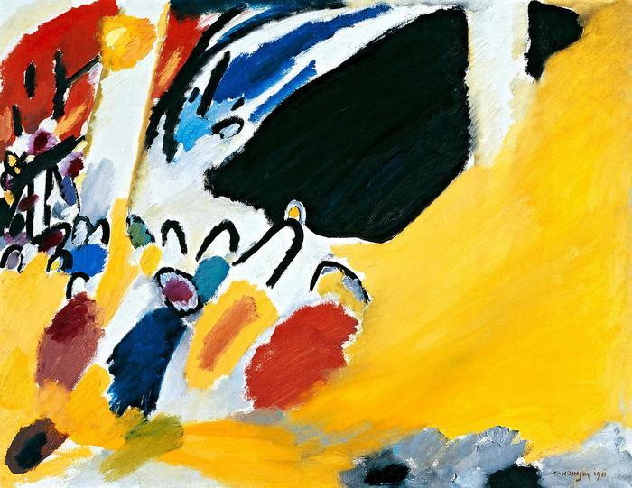 Impression III (Concert), Vaszilij Kandinszkij