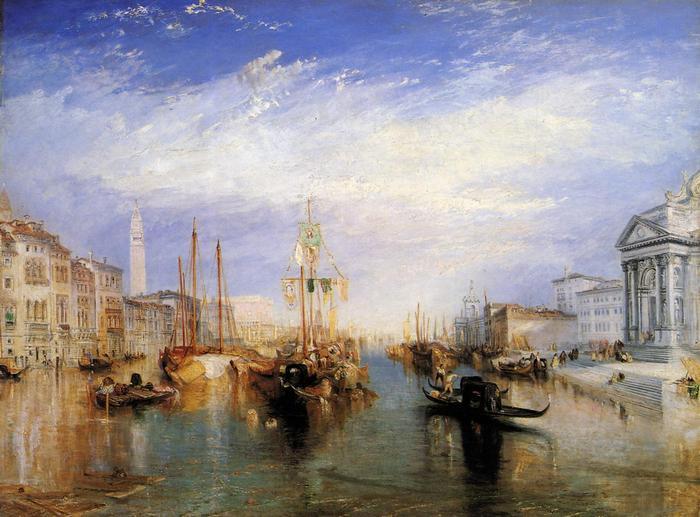 Grand Canal, Velence, William Turner