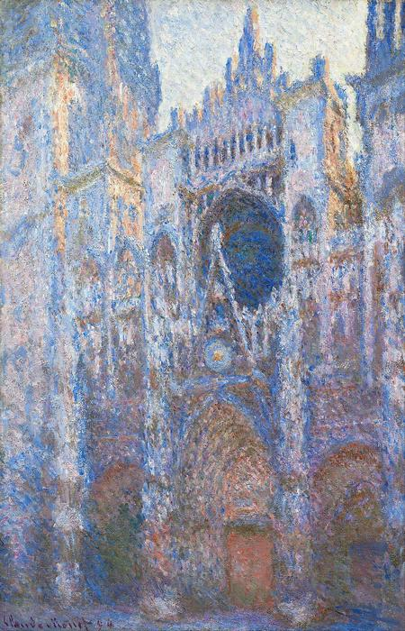 A Rouen-i katedrális homlokzata (1894), Claude Monet