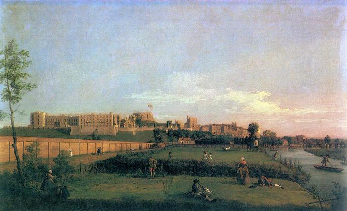 A Windsor-i Kastély, Canaletto