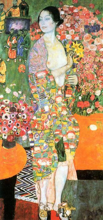 Táncosnő, Gustav Klimt