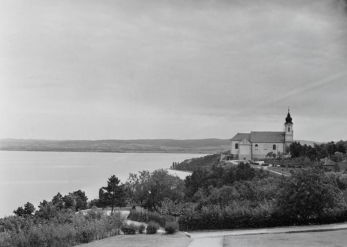 Tihany, Bencés apátság (1947), FORTEPAN