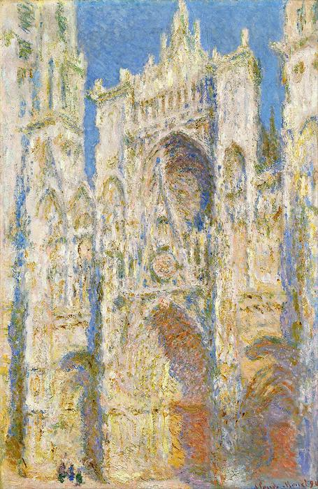 A Rouen-i katedrális, napsütésben (1894), Claude Monet