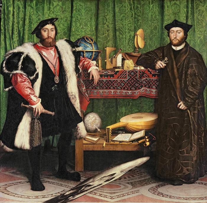 Követek, Hans Holbein
