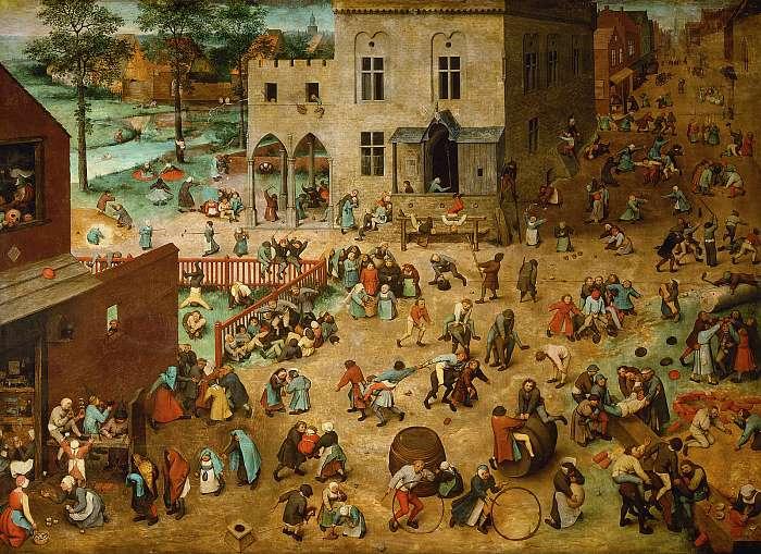 Gyermekjátékok (eredeti szín), Pieter Bruegel the Elder