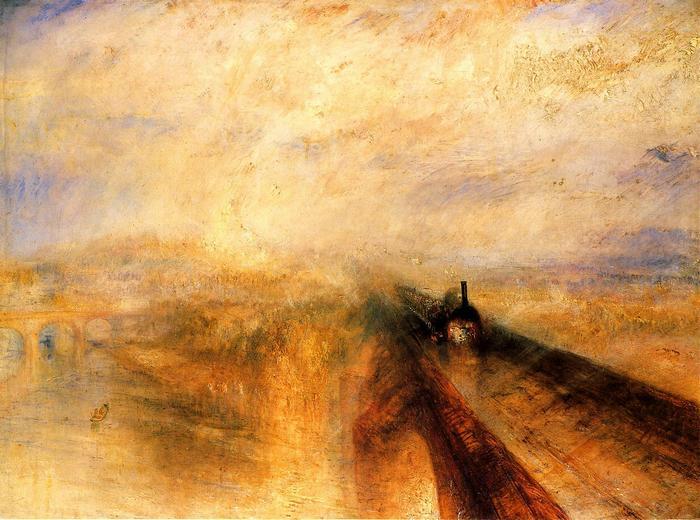 Eső, gőz és sebesség, 1844, William Turner