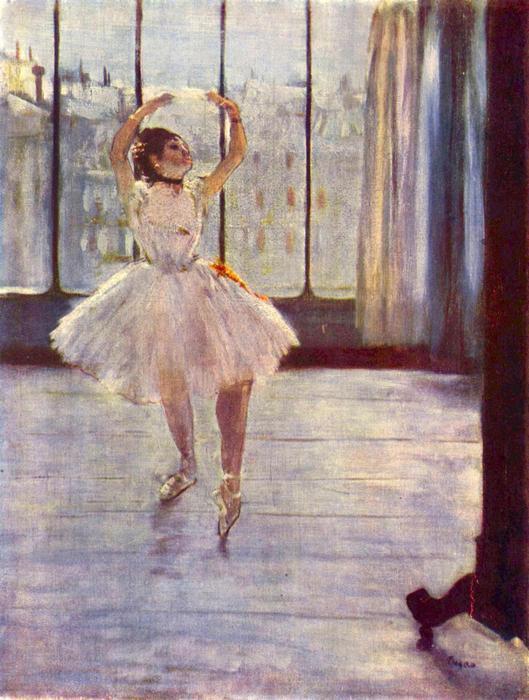 Balett-táncosnő fényképésznél, Edgar Degas
