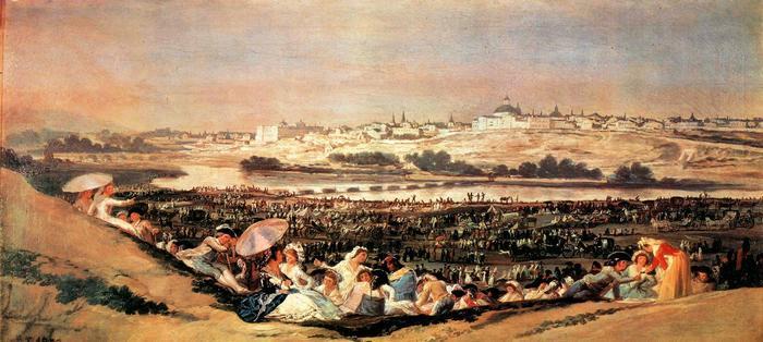 A Szent Izidor napi ünnepség, Francisco José de Goya
