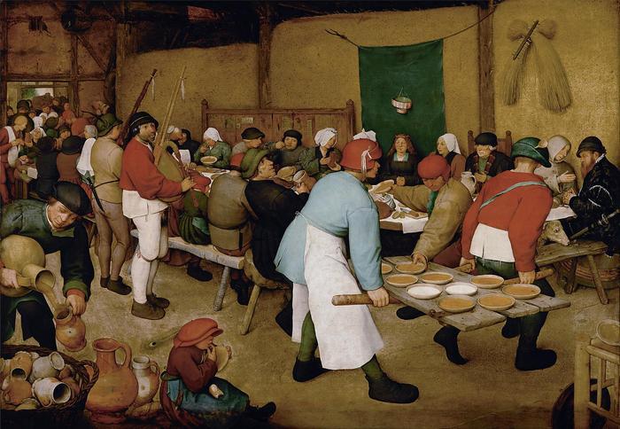 Parasztlakodalom, Pieter Bruegel the Elder
