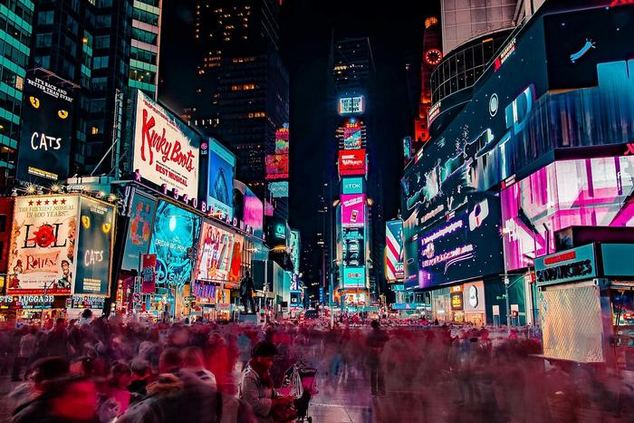 Times Square, New York City,