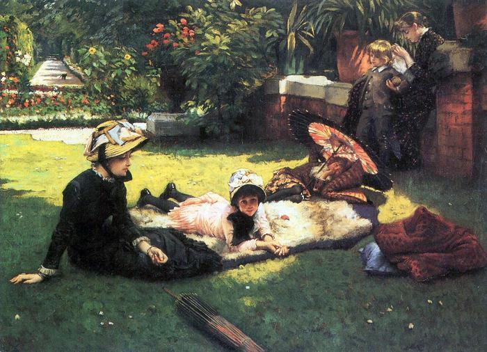 A napon, James Tissot