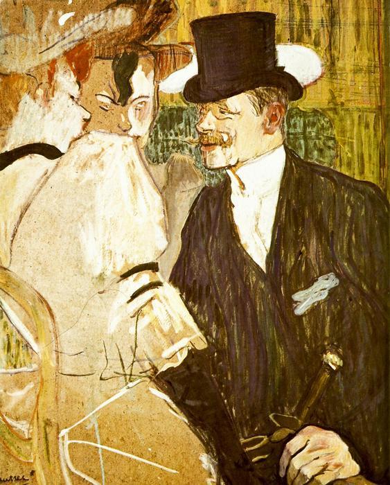Angol úr a Moulin Rouge-ban, Henri de Toulouse Lautrec