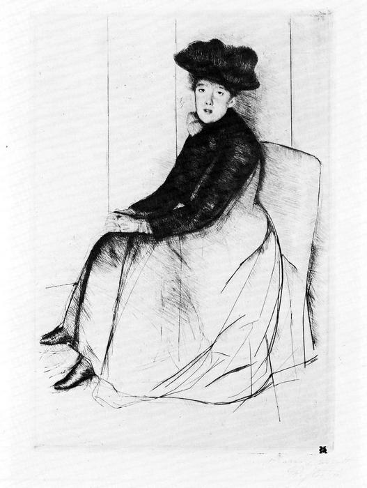 Elgondolkozva, Mary Cassatt
