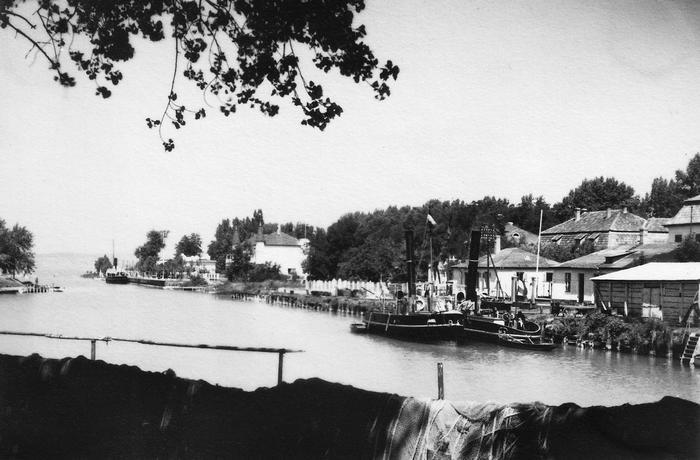 Siófok kikötő (1935), FORTEPAN