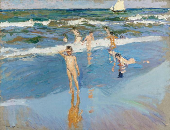 Gyerekek a tengerparton (1909), Joaquin Sorolla