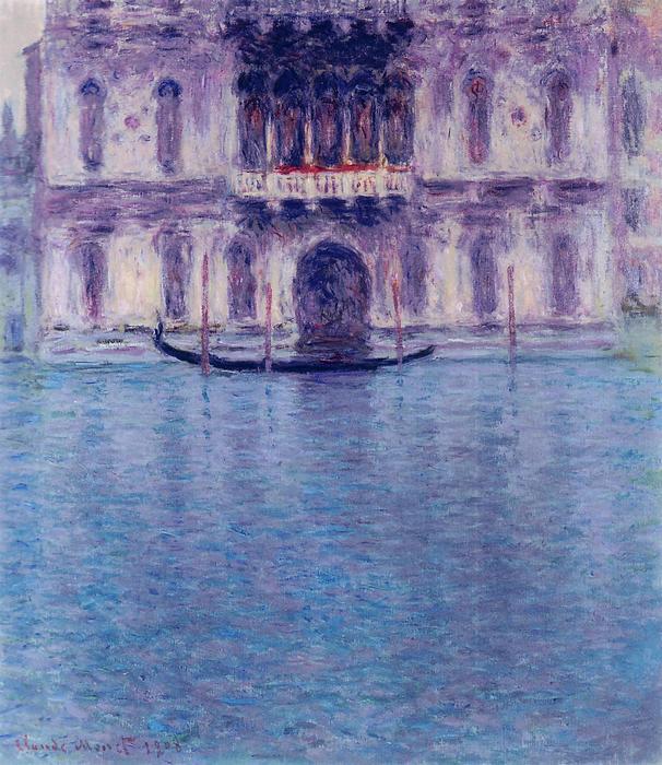 Contarini Palota, Velence - Színverzió 1., Claude Monet