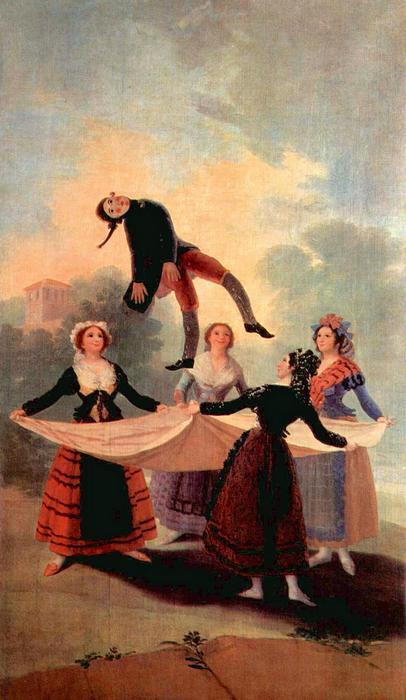 The Jumping Jack - Ugráló Jack, Francisco José de Goya