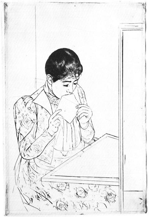 A levél 2, Mary Cassatt