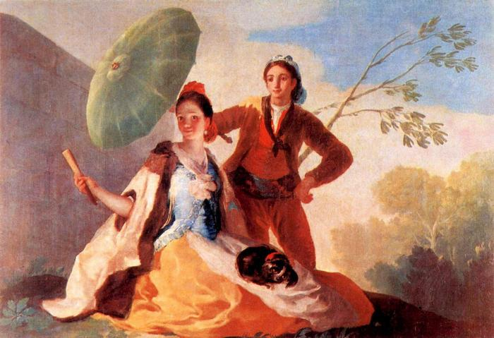 Napernyő, Francisco José de Goya