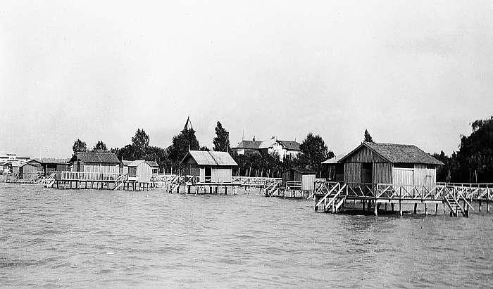 Balatonföldvár 1907 (színverzió 1), FORTEPAN
