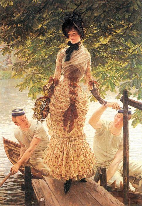 A Temzén, James Tissot