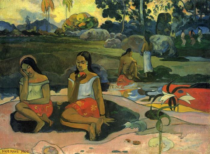 Édes álom, Nave Nave Moe, Paul Gauguin
